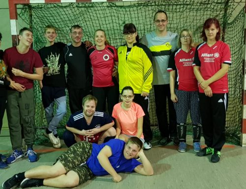 Start für Specialhockey beim CHC 02