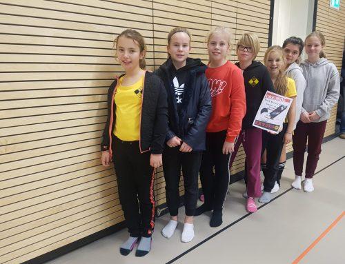 B-Mädchen beim Erich-Kästner-Turnier