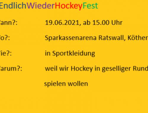 #EndlichWiederHockeyFest